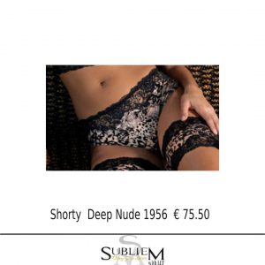 Subliem AMBRA Italy Lingerie Shorty 551 Deep Nude
